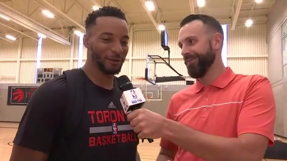 Raptors Training Camp: Norman Powell Answers Twitter Questions - September 28, 2016