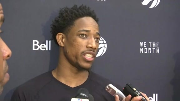 Raptors Training Camp: DeMar DeRozan - September 29, 2016