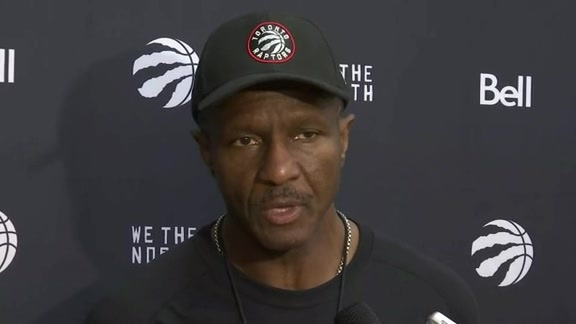 Raptors Training Camp: Dwane Casey - September 29, 2016
