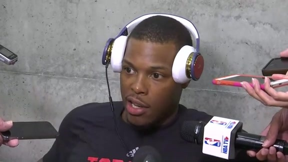 Raptors Training Camp: Kyle Lowry - September 30, 2016
