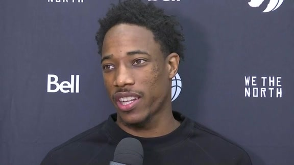 Raptors Training Camp: DeMar DeRozan - September 30, 2016
