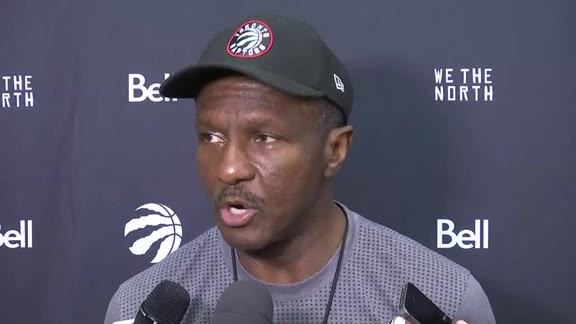 Raptors Training Camp: Dwane Casey - September 30, 2016