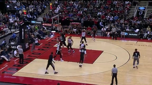 Game Highlights: Raptors Open Practice - October 11, 2016
