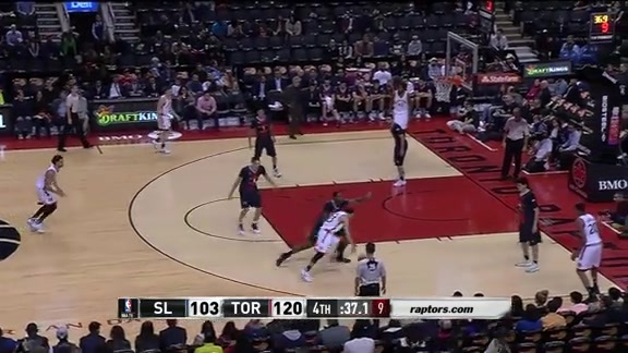 Game Highlights: San Lorenzo at Raptors - October 14, 2016