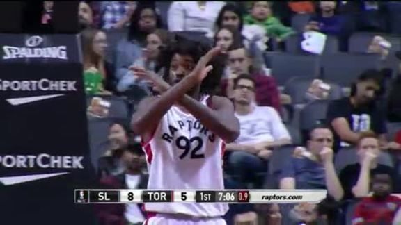 Raptors Highlights: Nogueira Denies Diaz - October 14, 2016