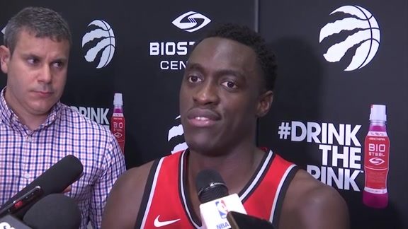 Raptors Media Day: Pascal Siakam - September 25, 2017