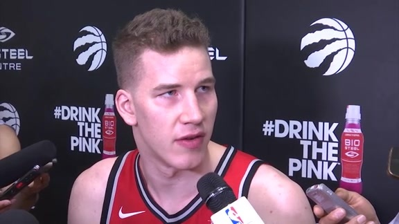 Raptors Media Day: Jakob Poeltl - September 25, 2017