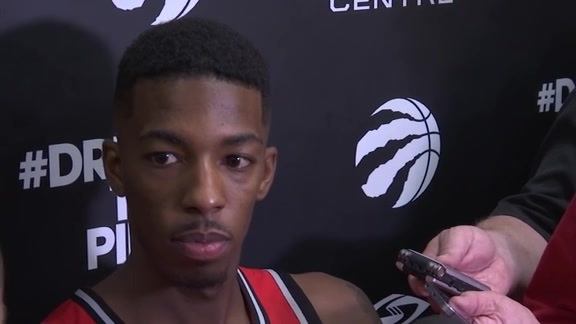 Raptors Media Day: Delon Wright - September 25, 2017
