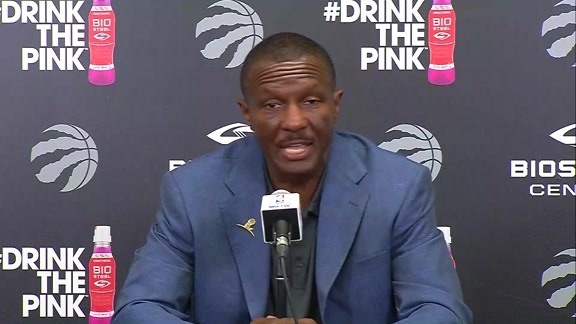 Raptors Media Day: Dwane Casey - September 25, 2017