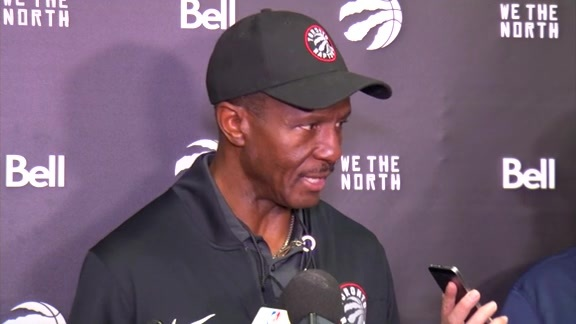 Raptors Shootaround: Dwane Casey - October 10, 2017