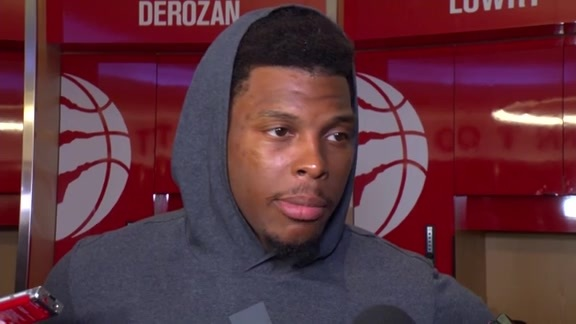 Raptors Post-Game: Kyle Lowry - October 10, 2017