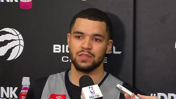 Raptors Practice: Fred VanVleet - October 11, 2017