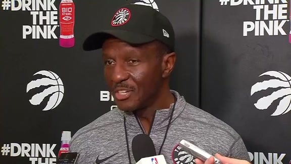 Raptors Practice: Dwane Casey - October 11, 2017