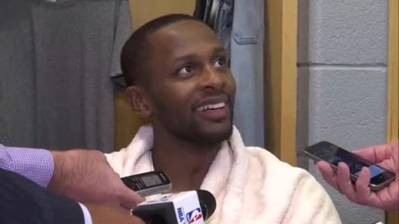 Raptors Post-Game: C.J. Miles - October 13, 2017