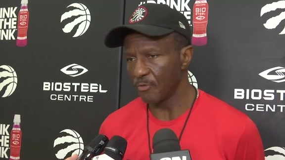 Raptors Practice: Dwane Casey - October 14, 2017