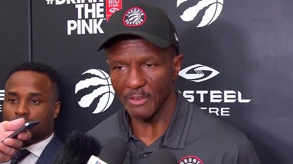 Raptors Practice: Dwane Casey - October 17, 2017