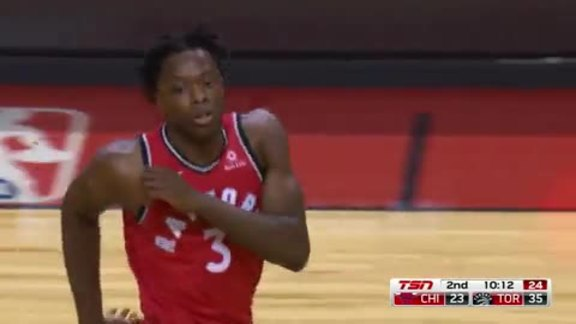 Raptors Highlights: Anunoby Spin and Slam - October 19, 2017
