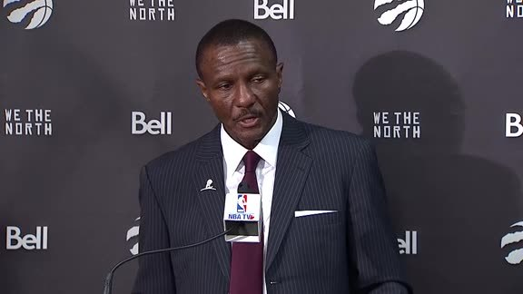 Raptors Post-Game: Dwane Casey - October 19, 2017