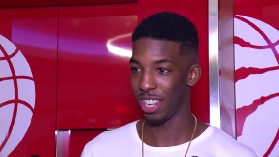 Raptors Post-Game: Delon Wright - October 19, 2017