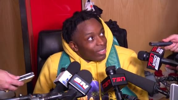 Raptors Post-Game: OG Anunoby - October 19, 2017