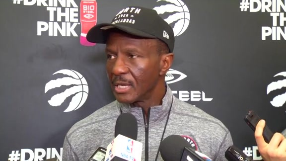 Raptors Practice: Dwane Casey - October 20, 2017