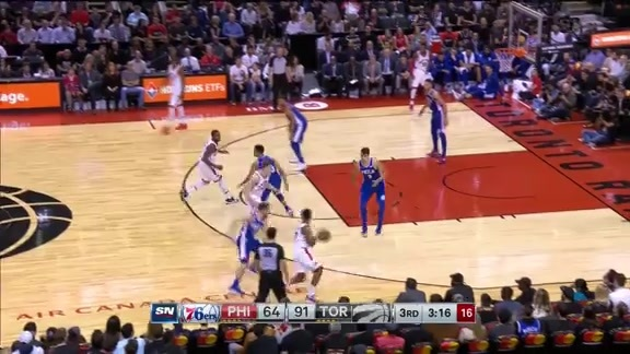 Game Highlights: 76ers at Raptors - October 21, 2017