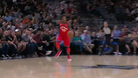 Raptors Highlights: Wright to the Rim - October 23, 2017