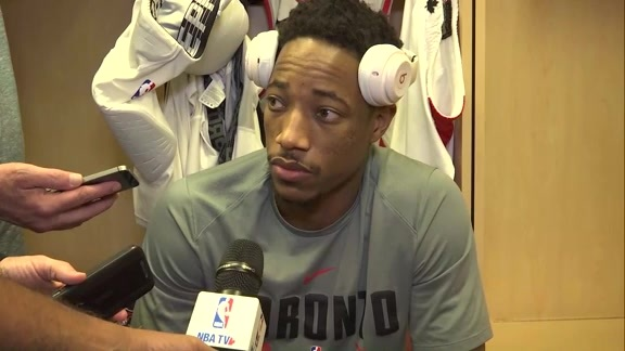 Raptors Shootaround: DeMar DeRozan - November 14, 2017
