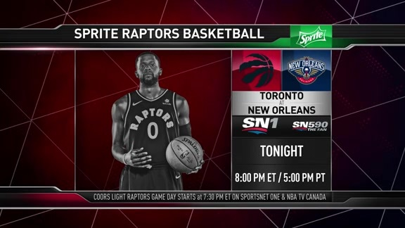 Raptors Game Preview: Toronto at New Orleans - November 15, 2017