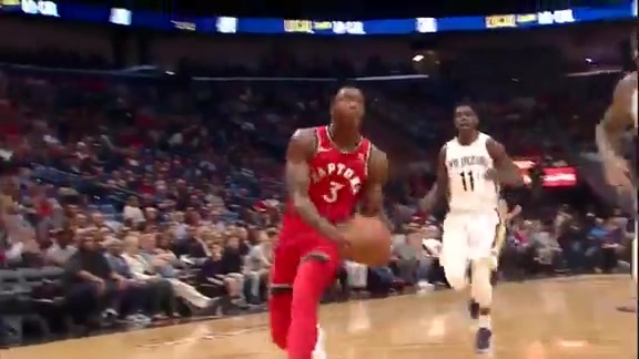 Raptors Highlights: OG's Breakaway Slam - November 15, 2017