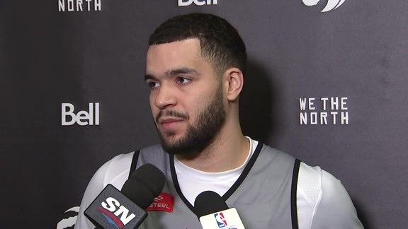 Raptors Shootaround:  Fred VanVleet - November 17, 2017