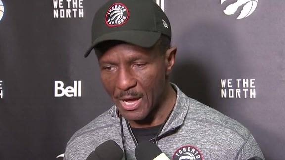 Raptors Shootaround: Dwane Casey - November 17, 2017