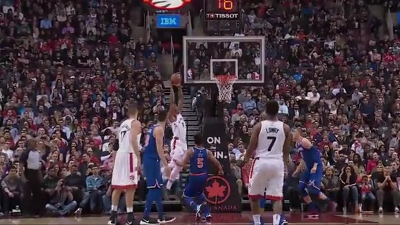 Game Highlights: Knicks at Raptors - November 17, 2017
