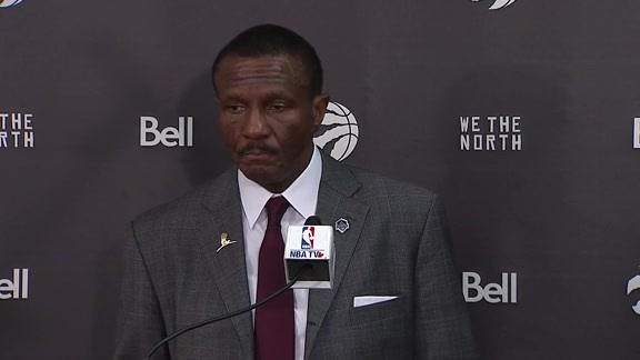 Raptors Post-Game: Dwane Casey - November 17, 2017