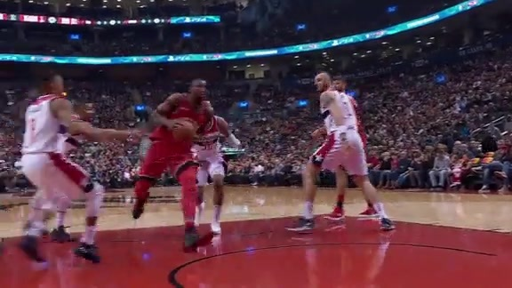 Raptors Highlights: Big to Big - November 19, 2017