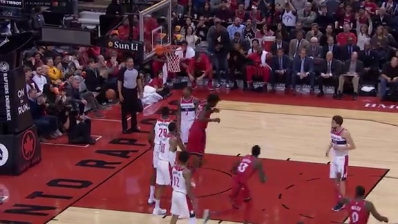 Raptors Highlights: Siakam to Nogueira Alley-Oop - November 19, 2017