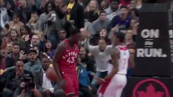 Raptors Highlights: Siakam's Putback Slam - November 19, 2017