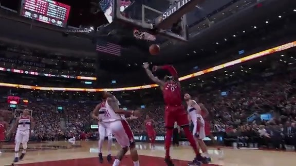 Raptors Highlights: Miles Takes Flight - November 19, 2017