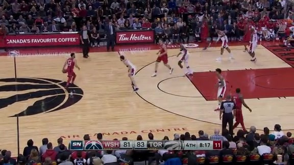 Game Highlights: Wizards at Raptors - November 19, 2017