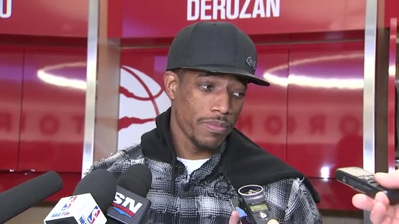 Raptors Post-Game: DeMar DeRozan - November 19, 2017