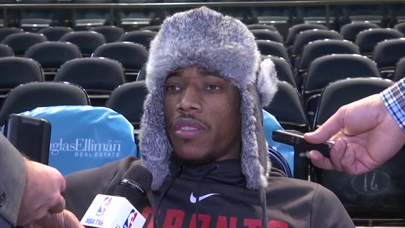 Raptors Shootaround: DeMar DeRozan - November 22, 2017