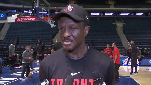 Raptors Shootaround: Dwane Casey - November 22, 2017