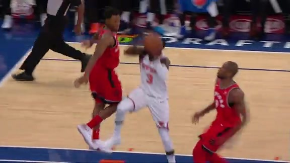 Raptors Highlights: Ibaka Denies Hardaway Jr. - November 22, 2017