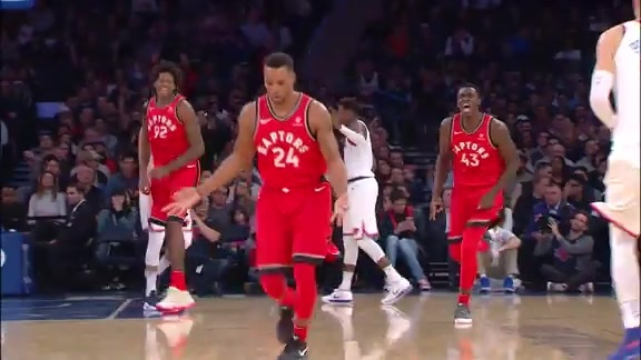 Raptors Highlights: Welcome Back Powell - November 22, 2017