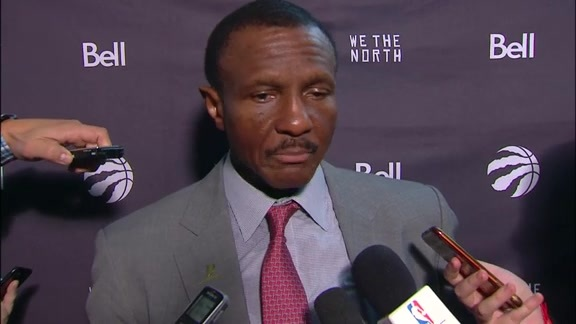 Raptors Post-Game: Dwane Casey - November 22, 2017