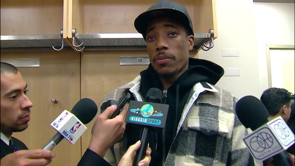 Raptors Post-Game: DeMar DeRozan - November 22, 2017