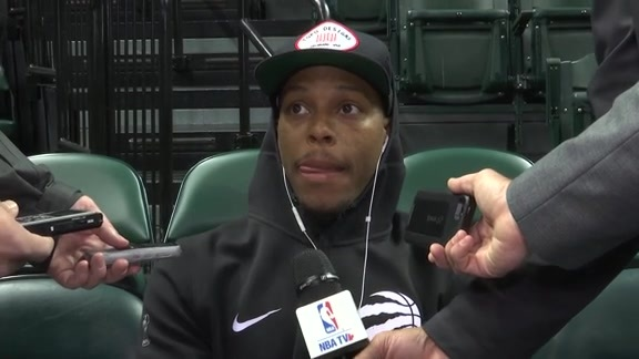 Raptors Shootaround: Kyle Lowry - November 24, 2017