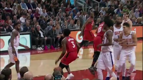 Raptors Highlights: OG's Baseline Slam - December 5, 2017