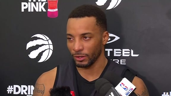 Raptors Practice: Norman Powell - December 7, 2017