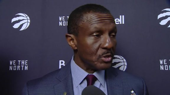 Raptors Post-Game: Dwane Casey - December 8, 2017